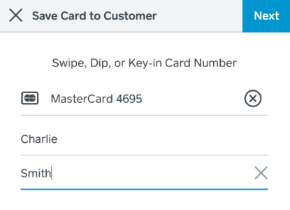 note cards on file will only be accessible during checkout with square pos if a client is prepaying online theyll have to enter their card information - Note Cards Online